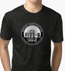 Hawaii Five-O Special Investigator Shield Tri-blend T-Shirt