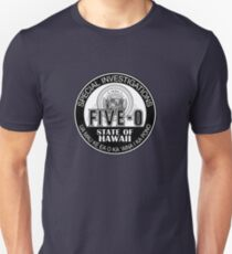 Hawaii Five-O Special Investigator Shield Slim Fit T-Shirt