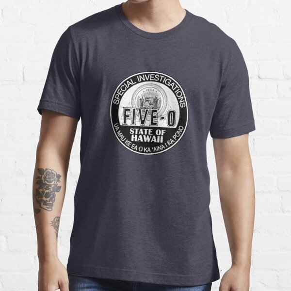 Hawaii Five-O Special Investigator Shield Camiseta esencial