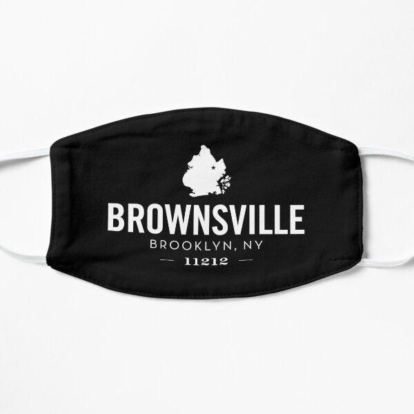 BROWNSVILLE - BROOKLYN, NY (black) Flat Mask