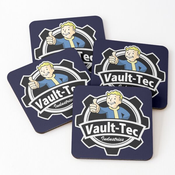 VAULT TEC Coasters (Set of 4)
