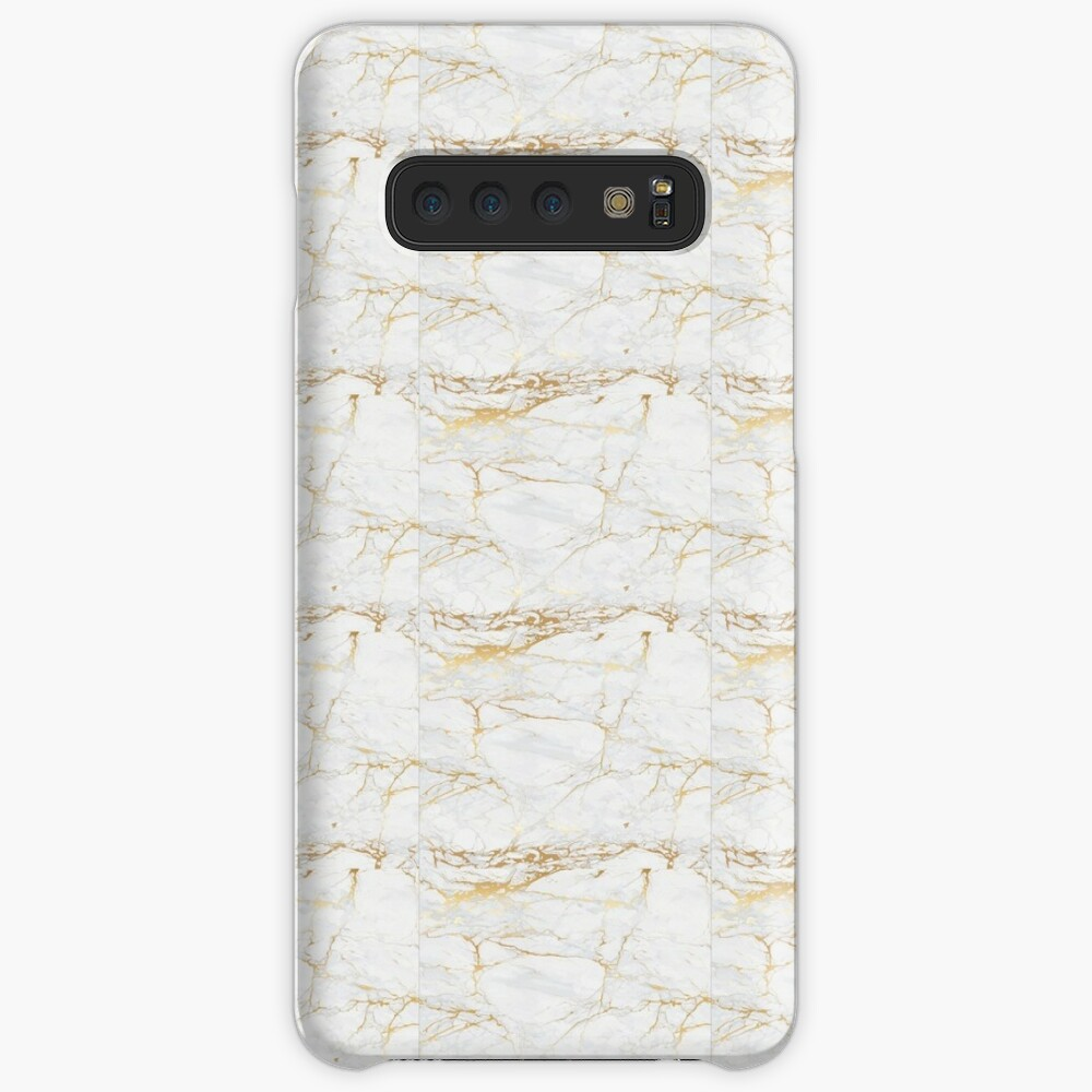 White Mabrle Wallpaper Case Skin For Samsung Galaxy By Raziadlani Redbubble