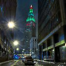 The Tower with Christmas on Top by MClementReilly