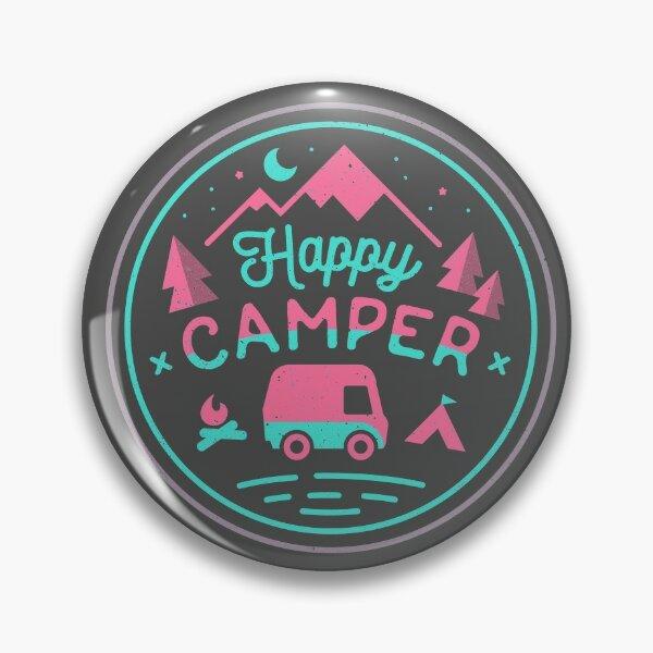Happy Camper Soft-top Pin