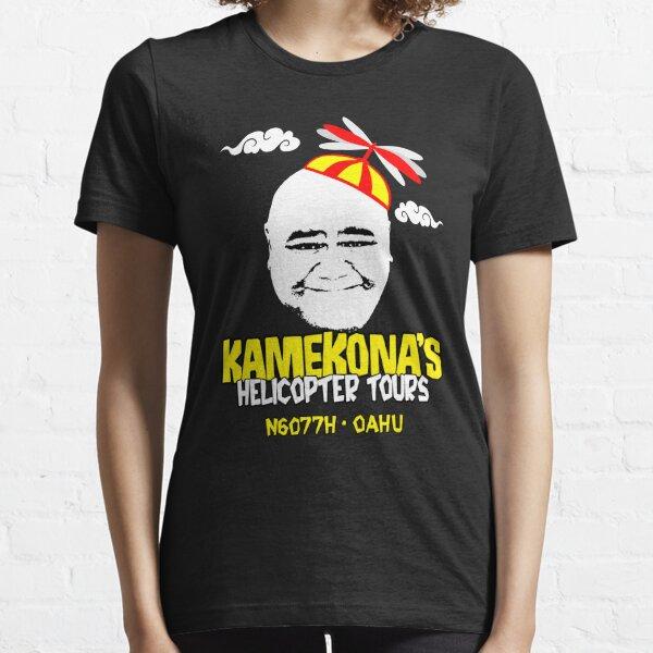 Kamekonas Hubschrauber-Touren Essential T-Shirt