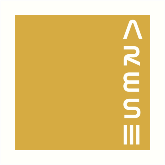"""the martian ares iii logo [right side]"""" art prints"""