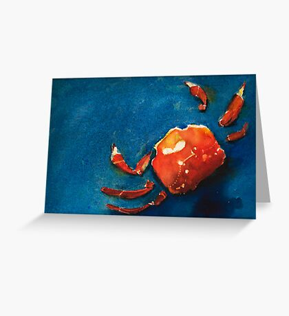 I'm Crabby Greeting Card