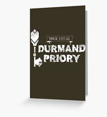 Durmand Priory Greeting Card