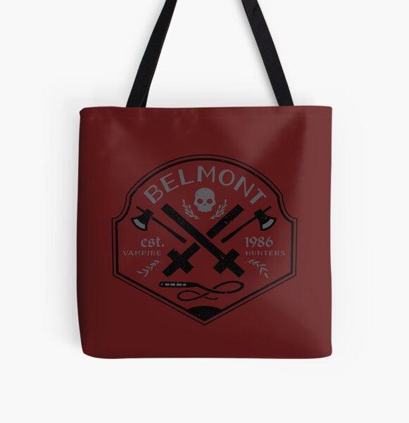 Belmont Vampire Hunters // Castlevania All Over Print Tote Bag