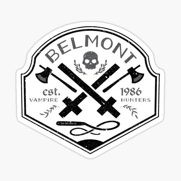 Belmont Vampire Hunters // Castlevania Sticker