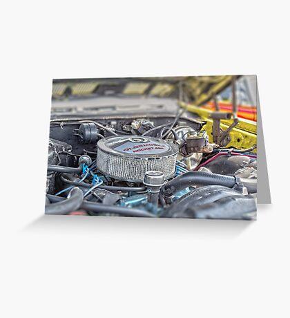 Oldsmobile Filter Greeting Card