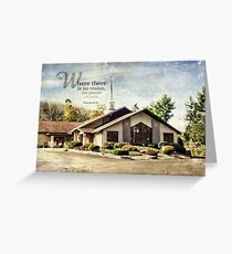 Where there is no vision-Prov. 29:18 Greeting Card