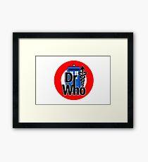 DR....WHO?? Framed Print