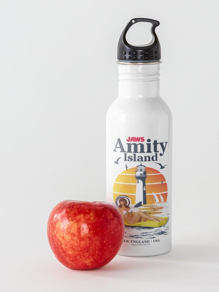 Alternate view of Jaws - Amity Island USA Navy Summer Variant (Universal © UCS LLC) Water Bottle