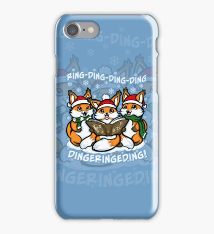 What does the Fox Sing - Iphone Case #1 iPhone Case/Skin