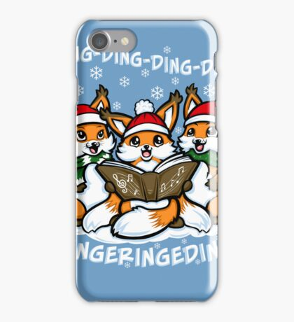 What does the Fox Sing - Iphone Case #2 iPhone Case/Skin