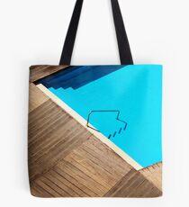 Pool Abstract Tote Bag