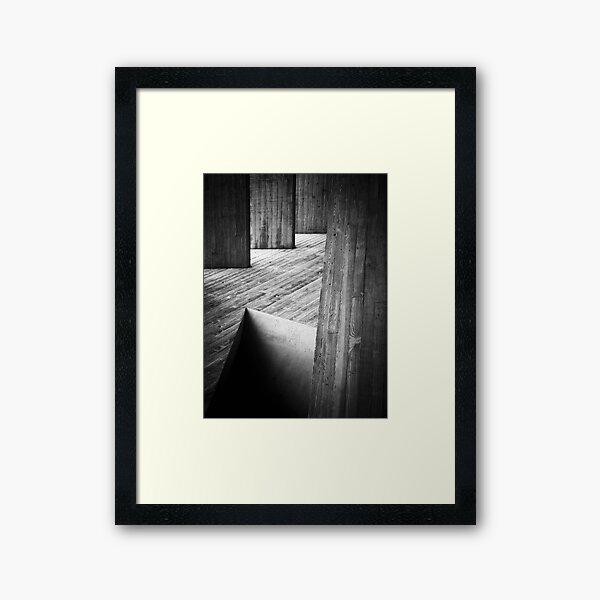 Pitfall Framed Art Print