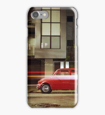 Little Red Car iPhone Case/Skin