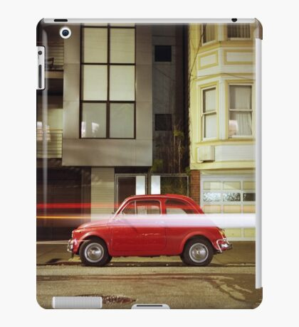 Little Red Car iPad Case/Skin
