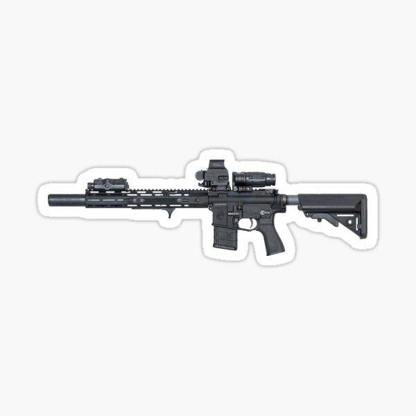Tactical Rifle  Sticker