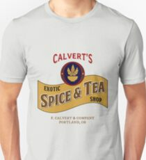 Calvert's Exotic Spice and Tea Shop Unisex T-Shirt