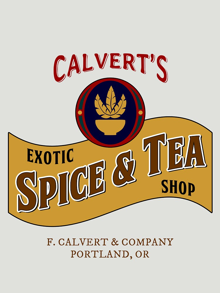 Calvert's Exotic Spice and Tea Shop | Unisex T-Shirt
