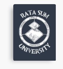 Rata Sum University Canvas Print