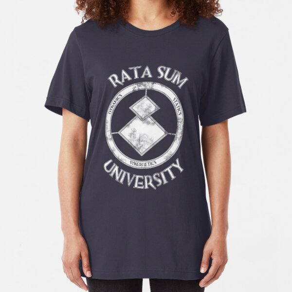 Rata Sum University Slim Fit T-Shirt