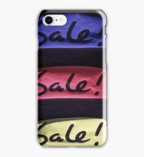 SALES iPhone Case/Skin
