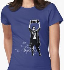 Say Anything - Dobler Women's Fitted T-Shirt