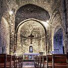 Le Castellet Medieval Church by Marc Garrido Clotet