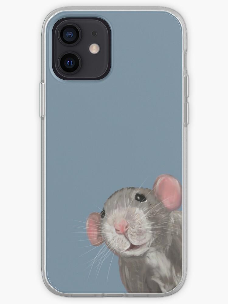 The Peeking Rat | Coque iPhone