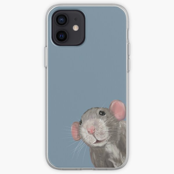 The Peeking Rat iPhone Soft Case