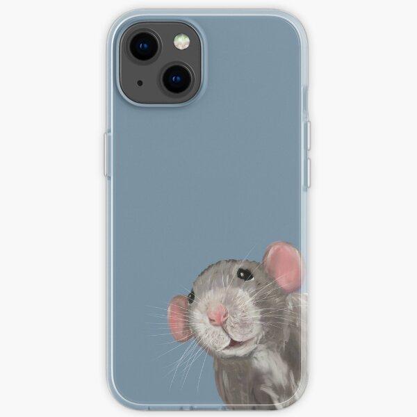 The Peeking Rat iPhone Soft Case