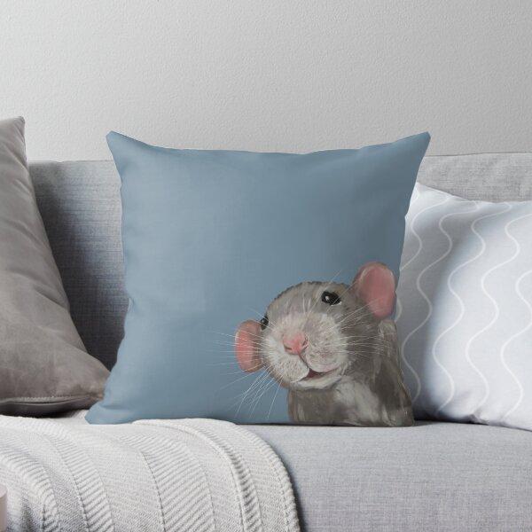 The Peeking Rat Coussin