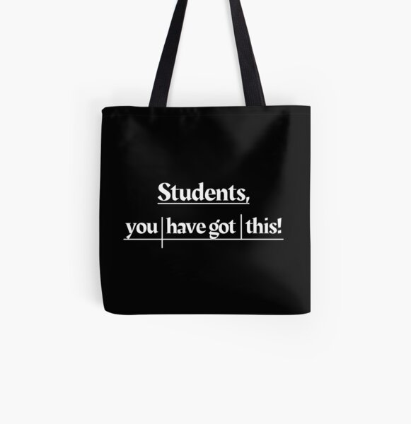 Sentence Diagram of Encouragement  All Over Print Tote Bag