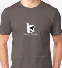 Kingsport University Tee Shirt (White Text) Unisex T-Shirt