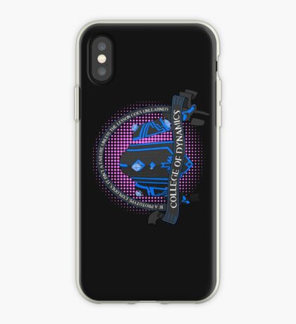 College of Dynamics iPhone Case
