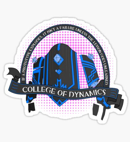 College of Dynamics Sticker