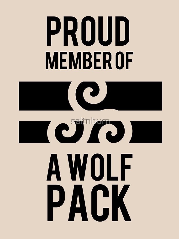 PROUD MEMBER OF A WOLF'S PACK | Unisex T-Shirt
