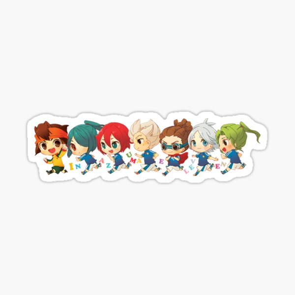 Inazuma Japan Chibi Sticker