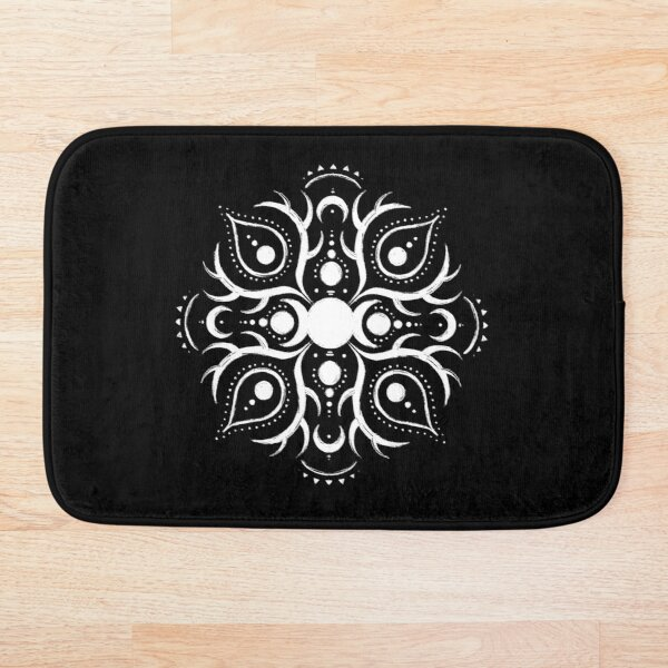 Triple Moon Bath Mat