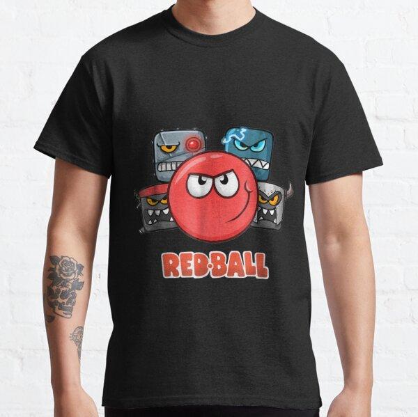 Red Ball 4 La tripulación Camiseta clásica