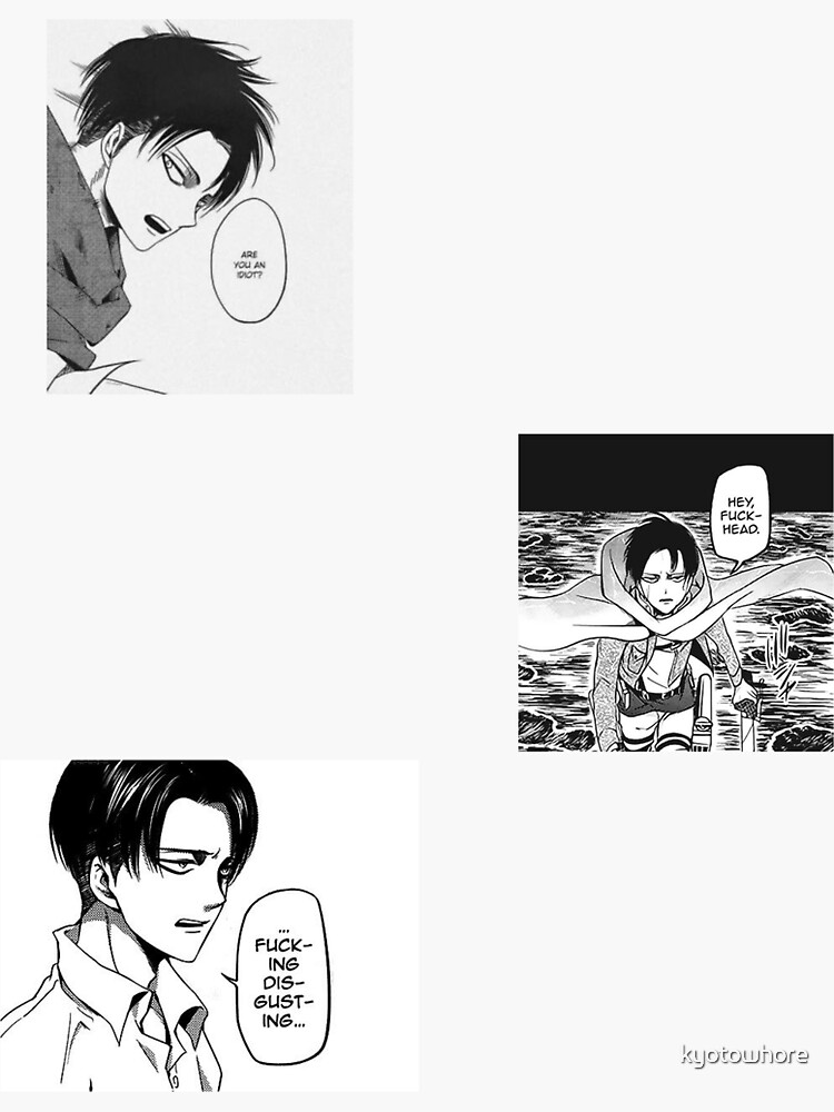 Quotes from Levi Ackerman ❤︎  by kyotowhore