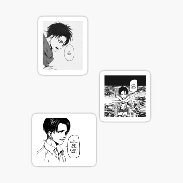 Citations de Levi Ackerman ❤︎ Sticker