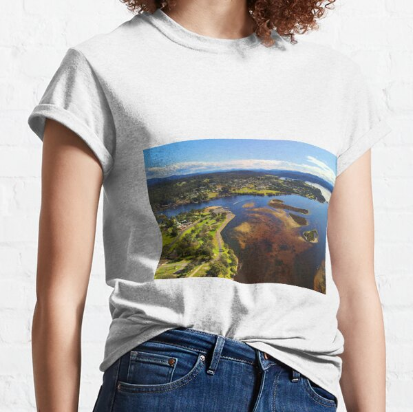 Lake Mallacoota Sunny August Day Classic T-Shirt