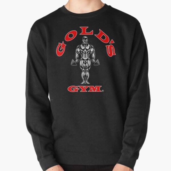 Gold's Gym Red Pullover Sweatshirt