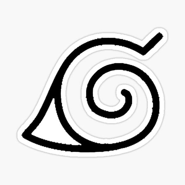 Konoha symbol Sticker