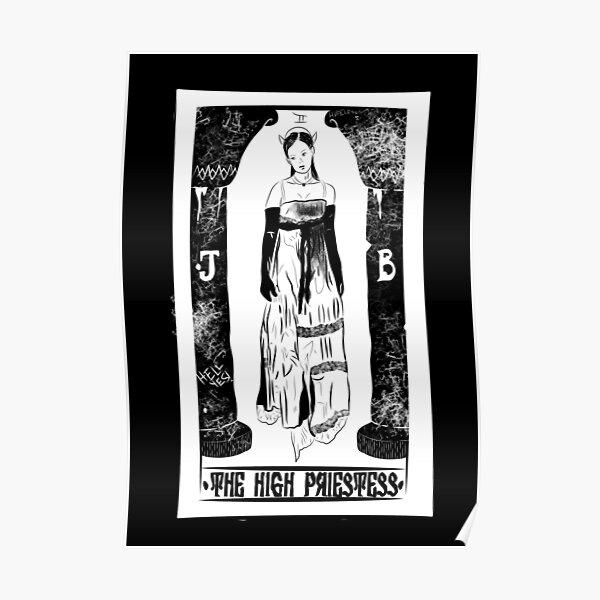 Jennifer's Body High Priestess Tarot Card Poster